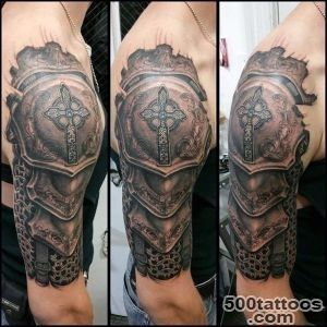 Top 90 Best Armor Tattoo Designs For Men   Walking Fortress_21