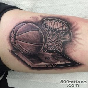 40+ Sporty Types of Basketball Tattoos — Famous Celebs_3