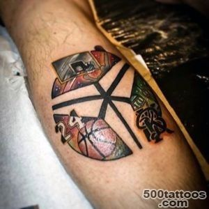 40 Basketball Tattoos For Men   Masculine Design Ideas_1