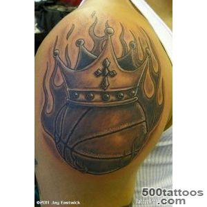 Basketball Tattoo  Free Tattoo Pictures_22JPG