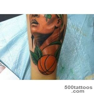 meaningful basketball tattoo ideas  Tattoo Design Ideas_50