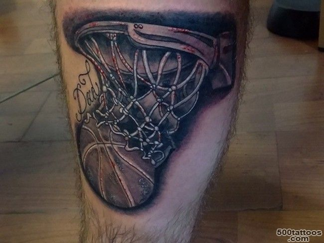 40+ Sporty Types of Basketball Tattoos — Famous Celebs_8
