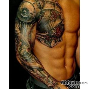 Arm and chest biomechanics Tattoo   Ideas Tattoo Designs_12