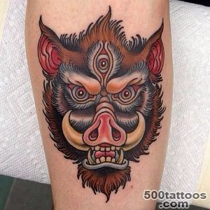 15 Latest Boar Tattoo Images, Pictures And Photos Ideas_14
