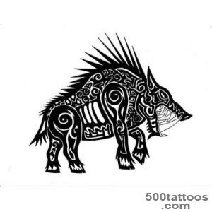 15 Latest Boar Tattoo Images, Pictures And Photos Ideas_26