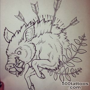 19 Boar Tattoo Designs, Samples And Ideas_16