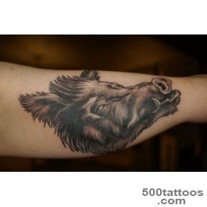 Boar Tattoo Images amp Designs_7