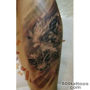 Boar Tattoo Images amp Designs_8