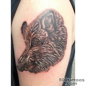 Boar Tattoo Images amp Designs_12