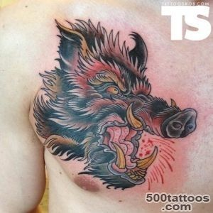 Boar Tattoo Images amp Designs_19