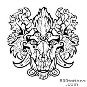 Boar Tattoo Images amp Designs_38