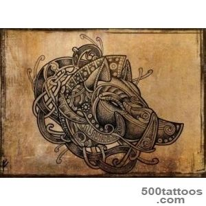 Viking style boar#39s head Artwork by Fernando Amador  Ink me _36