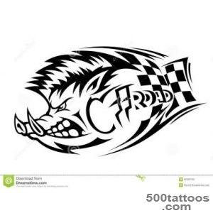Wild Boar Tattoo Stock Photos, Images, amp Pictures – (144 Images)_45