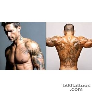 Top 12 Ripped Athletes With Tattoos  Tattoodo_48