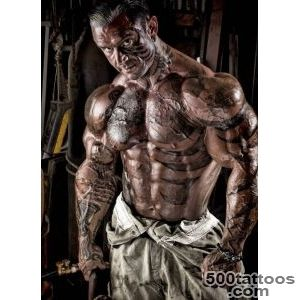 Top Sleeve Tattoo Ideas For Bodybuilders Images for Pinterest Tattoos_38