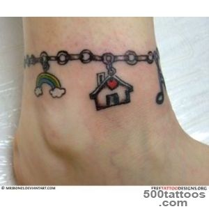 69 Ankle Tattoos_46