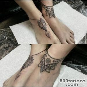Ankle Bracelet tattoos 8 (598?593)  tatuagens  Pinterest _37