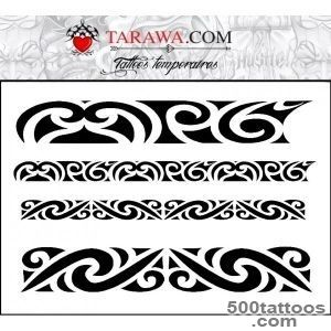 Bracelet temporary tattoo Polynesian   Temporary Tattoo_43