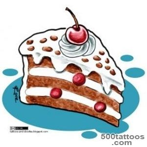 Cake Tattoos, Designs And Ideas  Page 16_33
