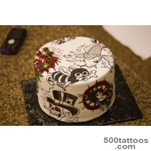 Crazy Beautiful Cakes   Gallery   Ed Hardy Tattoo Cake_7