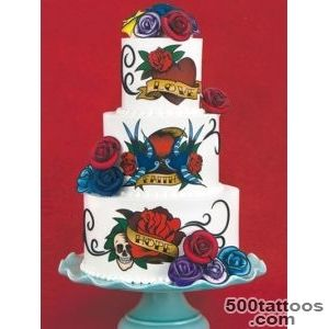 Decorating Idea   Tattoo Embellishment Cake_45