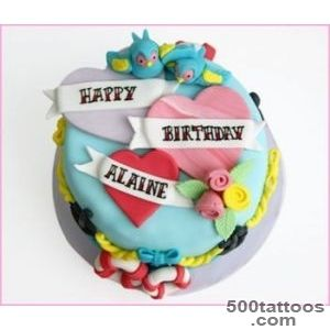 Just For You Cakes Dublin Sailor Tattoo Cake_46
