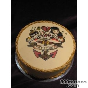 Old School Sailor Jerry Tattoo Cake_36
