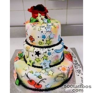 Pin Tattoo Cake Art Pinterest on Pinterest_31