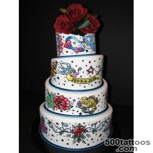 Pin Tattoo Themed Cake Wild N Crazy Cakes Pinterest on Pinterest_10