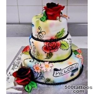 Tattoo cake front by buttercreamfantasies on DeviantArt_44