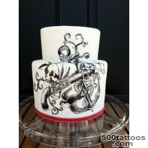 Tattoo cakes on Pinterest  Tattoo Cake, Tattooed Wedding and _24