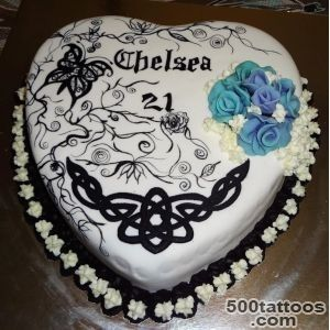 You have to see White Tattoo Cake by NovyNovy!_21
