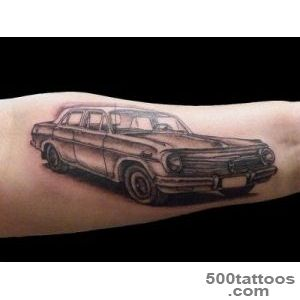 50+ Awesome Car Tattoos_5