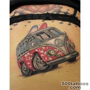 56 VW Tattoos For People Who Love Cars A Bit Too Muc_7