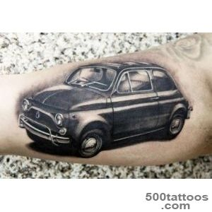 Cars tattoo by Erich Rabel  Photo No 7340_18