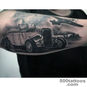 Car Tattoos for Men   Ideas and Inspiration for Guys_4