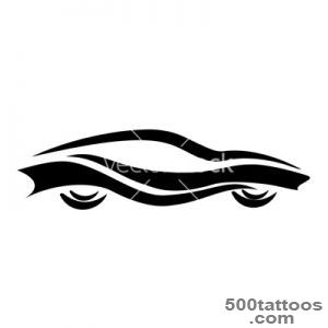 Pin Car Tattoo Vector Illustration Stockpodium Image 7705605 on _21