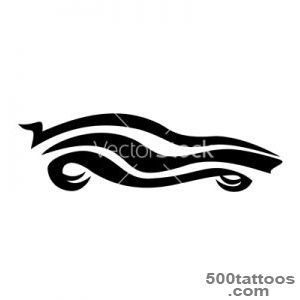 Tattoo car vector by baldyrgan   Image #900844   VectorStock_15
