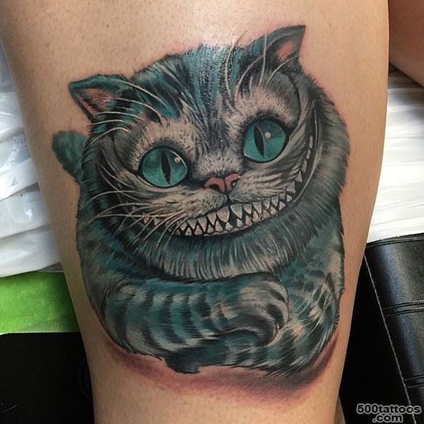 22 Awesome Cheshire Cat Tattoos   Catster_3