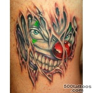 70+ Awesome Clown Tattoos_18