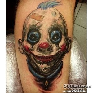 70+ Awesome Clown Tattoos_23