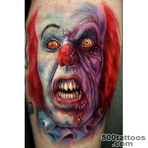 70+ Awesome Clown Tattoos_28