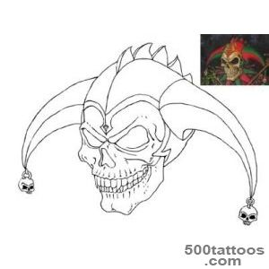 DeviantArt More Like Tattoo design Killer Clown by tjiggotjurring_48