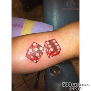 19+ Cool Dice Tattoos_5