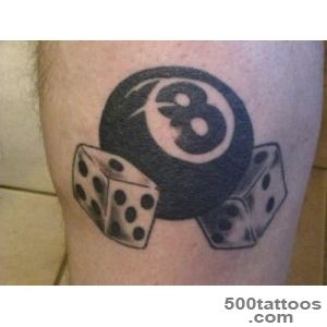 19+ Cool Dice Tattoos_9