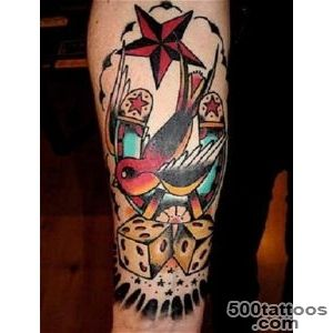 30 Best Dice Tattoo Designs To Try With_7