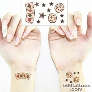 Online Buy Wholesale dice tattoos from China dice tattoos _42