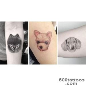 40 Amazing Dog Tattoos For Dog Lovers   TattooBlend_25