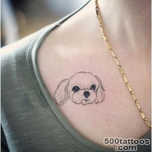 40 Amazing Dog Tattoos For Dog Lovers   TattooBlend_41