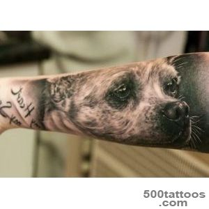 Riveting A Tattoo Of Your Dog Animal Tattoos Design August 2016_37